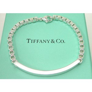 ティファニー Tiffany&Co. ベネチアンリンクID ブレスレット|taiyodo