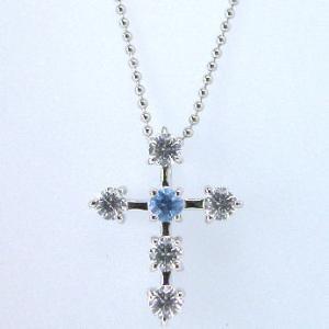 Cross for NewYork クロスフォーニューヨーク Star Cross Blue ペンダントネックレス NPN109|taiyodo