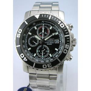 SEIKO セイコー 腕時計 アラームクロノグラフ SNA225P1 クォーツ メンズ|taiyodo
