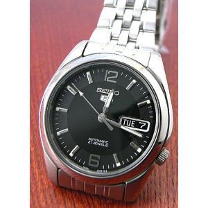 SEIKO セイコー 腕時計 ファイブ 自動巻 オートマチック SNK393KCメンズ|taiyodo