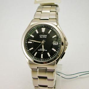 CITIZEN シチズン 腕時計 アテッサ スリムデイト エコドライブ電波 ATD53-2841IP メンズ|taiyodo