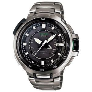 カシオ プロトレック 最上位MANASLUマナスル マルチバンド6タフソーラー電波 PRX-7000T-7JF腕時計|taiyodo