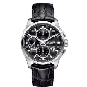 HAMILTON ハミルトン 腕時計 Jazzmaster Auto Chrono ジャズマスター オートクロノ 自動巻クロノグラフ カーフベルト H32596731正規品メンズ|taiyodo
