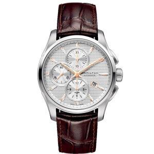 HAMILTON ハミルトン 腕時計 Jazzmaster Auto Chrono ジャズマスター オートクロノ 自動巻クロノグラフ  カーフベルト H32596551正規品メンズ|taiyodo