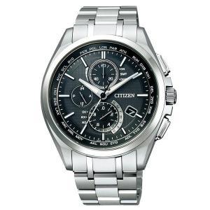 CITIZEN シチズン 腕時計 ATTESA アテッサ Eco-Drive エコ・ドライブ 電波時計 ダイレクトフラ イト AT8040-57E メンズ|taiyodo