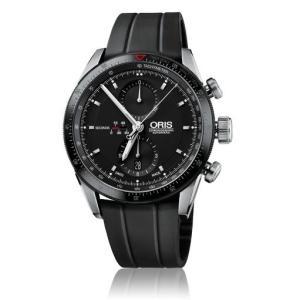 オリス ORIS 腕時計 アーティックスGTクロノ BK/BK ラバー 67476614434R メ...