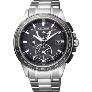 CITIZEN シチズン 腕時計 ATTESA アテッサ Eco-Drive エコ・ドライブ 電波時計 ダイレクトフライト  長谷部誠モデル AT9024-58E メンズ|taiyodo