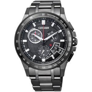 CITIZEN シチズン 腕時計 ATTESA アテッサ Eco-Drive エコ・ドライブ ソーラー電波 ダイレクトフライト BY0095-50E 限定モデル メンズ|taiyodo