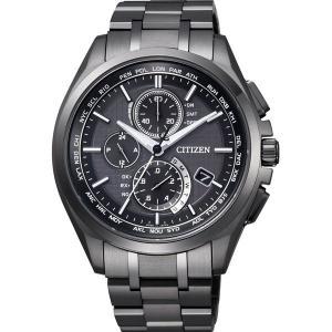 CITIZEN シチズン 腕時計 ATTESA アテッサ Eco-Drive エコ・ドライブ 電波時計 ダイレクトフライト AT8044-56E メンズ|taiyodo