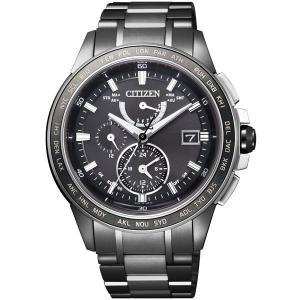 CITIZEN シチズン 腕時計 ATTESA アテッサ Eco-Drive エコ・ドライブ 電波 ダイレクトフライト AT9025-55E メンズ|taiyodo