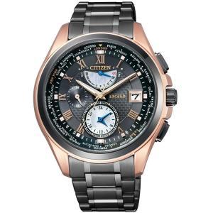 CITIZEN シチズン 腕時計 EXCEED エクシード LIGHT in BLACK ライト イン ブラック 限定 Eco-Drive エコドライブ 電波 AT9055-54E メンズ|taiyodo
