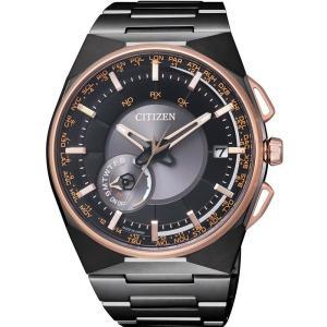 CITIZEN シチズン 腕時計 LIGHT in BLACK 限定 エコドライブ サテライト ウエ ーブ F100 衛星電波受信 CC2004-59E メンズ|taiyodo