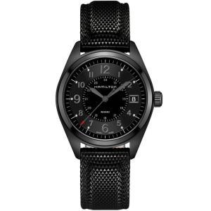 HAMILTON ハミルトン 腕時計 Khaki Field カーキ フィールド クォーツ  ブラックPVD 40mm H68401735 国内正規品|taiyodo