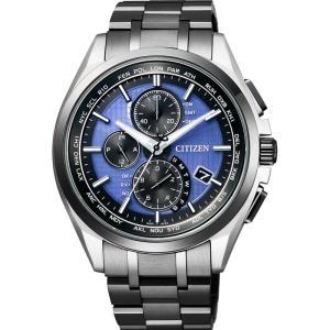 CITIZEN シチズン 腕時計 LIGHT in BLACK ATTESA アテッサ Eco-Drive  エコ・ドライブ 電波時計 ダイレクトフライト AT8044-72L 限定ウォッチ メンズ|taiyodo
