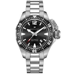HAMILTON ハミルトン 腕時計 Khaki Navy Open Water Auto カーキ ネイビー オープンウォーターオート H77605135 国内正規品 メンズ|taiyodo