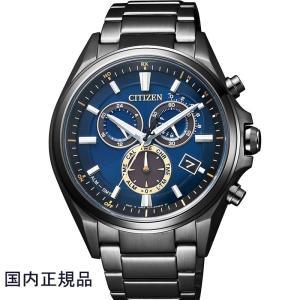 CITIZEN シチズン 腕時計 ATTESA アテッサ30周年記念限定 エコドライブ電波クロノグ ラフ Eco-Drive AT3055-57L メンズ|taiyodo