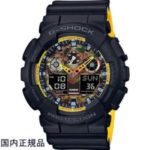 カシオ G-SHOCK ジーショック 腕時計 アナデジ GA-100BY-1AJF メンズウォッチ国内正規品|taiyodo