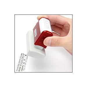 シヤチハタ式の浸透印/スーパーパインスタンパー/長方形型/印面サイズ23×51mm|taiyotomah