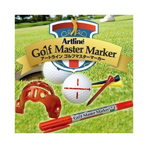 【Shachihata】シヤチハタ 【Artline】アートライン ゴルフマスターマーカー Artline Golf Master Marker|taiyotomah