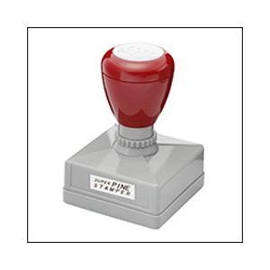 記念スタンプ(浸透印)シヤチハタ式/印面サイズ40×40mm角印|taiyotomah