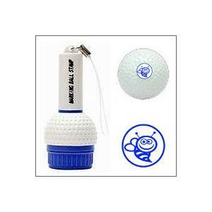 ゴルフボール名入れスタンプ/マーキングボールスタンプ(蜂)/印面の大きさ10mm丸|taiyotomah