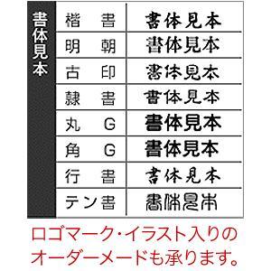 ゴム印/万能ゴム印(パインエキストラスタンプ)/印面サイズ:15×25mm|taiyotomah|03