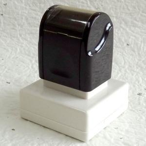 シヤチハタ式の浸透印/スーパーパインスタンパー/角印/印面サイズ30×30mm|taiyotomah