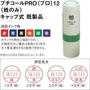 サンビー プチコールPRO(プロ)12(姓のみ)キャップ式 既製品。|taiyotomah