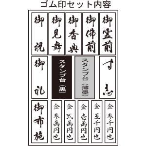 慶弔スタンプセット「楽々のし袋スタンプ(既製)」のし袋スタンプセット|taiyotomah|02