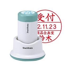 【Shachihata】シヤチハタ データーネーム 30号 スタンド式 日付L 印面サイズ:直径30mm|taiyotomah