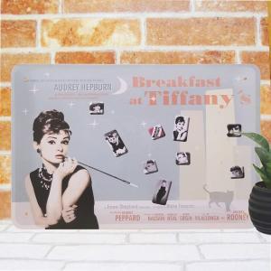 ブリキ看板 1000種類 ティファニーで朝食を 2 映画ポスター|taiyozakka