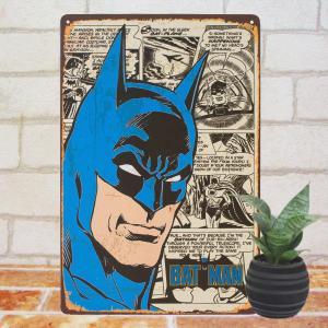 ブリキ看板 1000種類 バットマン wa// DCコミック ポスター|taiyozakka