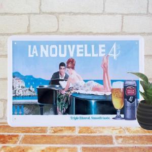 ブリキ看板 ベルギービール Stella Artois BAR インテリア ポスター|taiyozakka