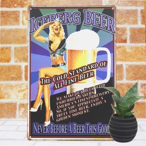 ブリキ看板 1000種類 ビール agi ポスター|taiyozakka