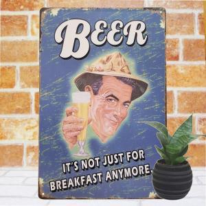 ブリキ看板 1000種類 ビール be青 ポスター|taiyozakka