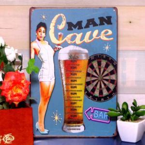 ブリキ看板 1000種類 ビール ca青 ポスター|taiyozakka