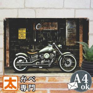 ブリキ看板 1000種類 バイク 黒ba ポスター|taiyozakka
