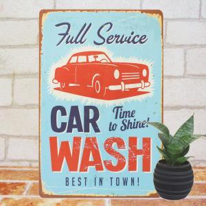 ブリキ看板 1000種類 CAR WASH ポスター|taiyozakka