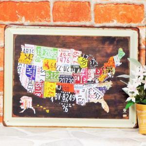 ブリキ看板【大】1000種類 ナンバープレート USA br ポスター|taiyozakka