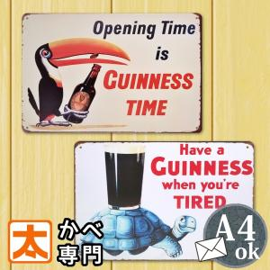 ブリキ看板 ギネスビール トゥーカン2 鳥 オオハシ 黒ビール ポスター|taiyozakka