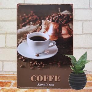 ブリキ看板 コーヒー st アンティーク風 ポスター カフェ インテリア 雑貨 taiyozakka