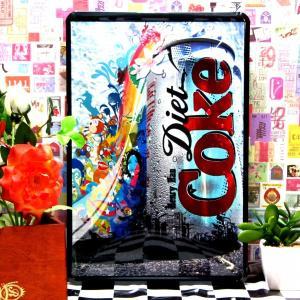 ブリキ看板 1000種類 コカコーラ diet ポスター|taiyozakka