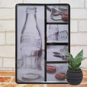 ブリキ看板 1000種類 コカコーラ kbo 2 ポスター|taiyozakka