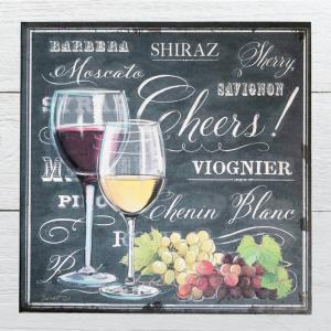 木製看板30 赤ワイン インテリア ポスター BAR 白ワイン チョークアート|taiyozakka