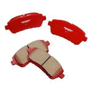 スイフトスポーツ [ZC33S/ZC32S] / スイフト[ZC13S/ZC43S/Z#53S/Z#83S] ブレーキ パッド【モンスタースポーツ  ブレーキパッド type-S1 フロント 】|tajimastore