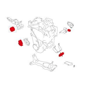 ブッシュ・マウント【エンジンマウント】アルト,ワゴンR,セルボモード|tajimastore