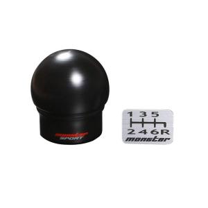 スイフトスポーツ  ZC33S シフトノブ  球タイプ 黒 モンスタースポーツ 小型宅配便