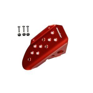 ジムニー フットレスト JB23W「スポーツフットレスト Type-2 レッドアルマイト」ジムニーJB23W MT車「842572-5200M」|tajimastore