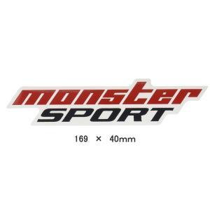 モンスタースポーツステッカー*スイフト/ジムニー/ランエボ/86「NEWモンスタースポーツステッカー 169mm」169×40「896109-0000M」*メール便(要2週間程度)|tajimastore