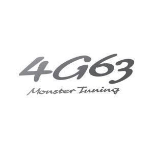 ステッカー「モンスタースポーツ4G63 Monster Tuning ステッカー」「896166-0000M」 tajimastore